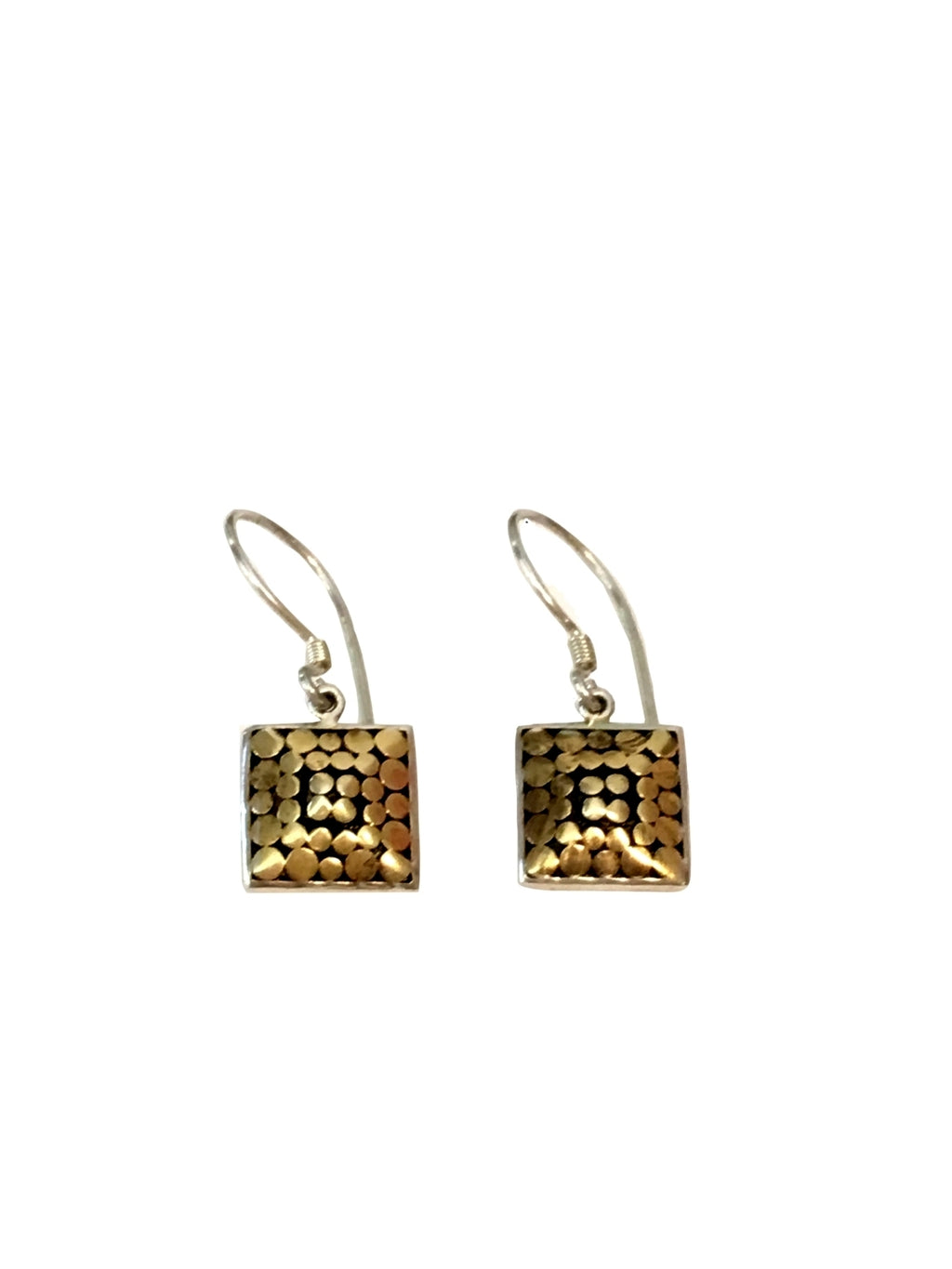 Sterling & Gold Reach for the Top Earrings