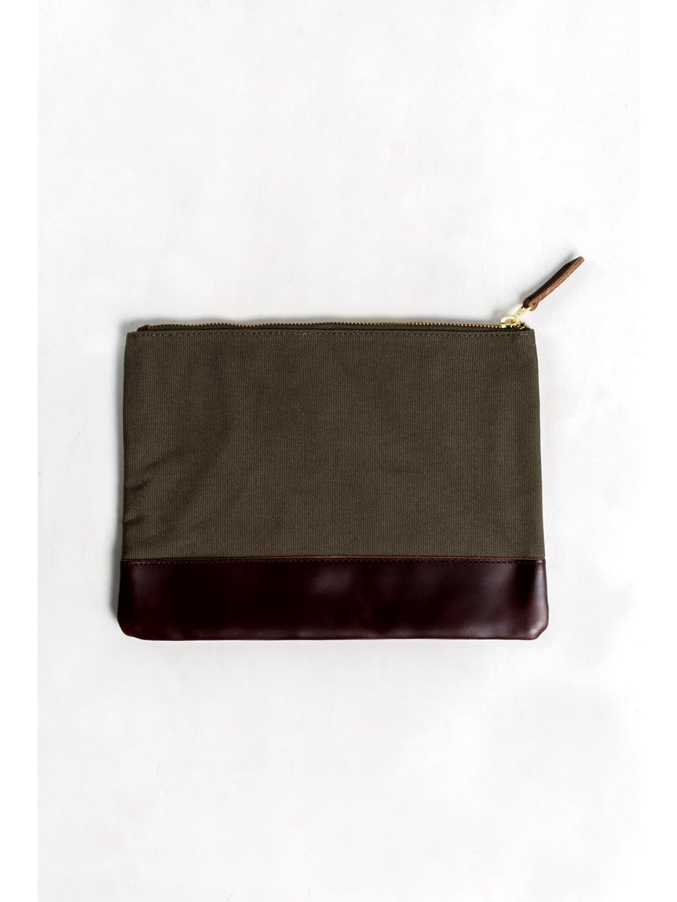 Large Cotton Canvas Pouch