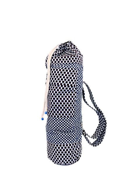 Large Two Mat Yoga Bag With African Print