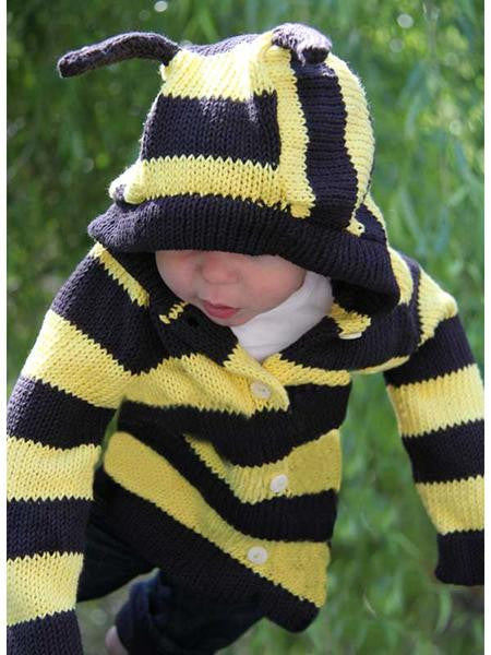 Organic Cotton Bee Sweater