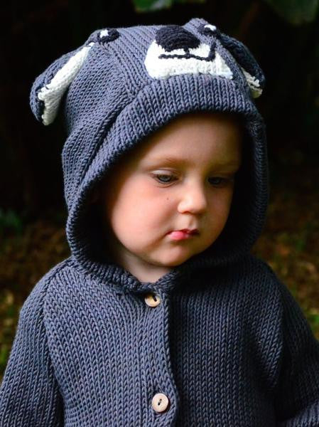 Organic Cotton Koala Sweater