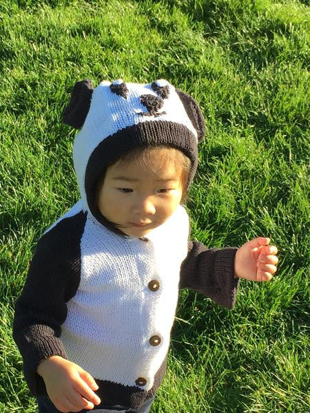 Organic Cotton Panda Sweater