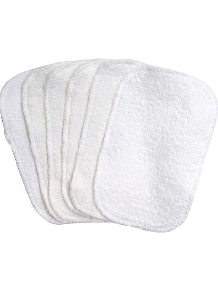 Organic Cotton Terry Wipes - 6 Pack