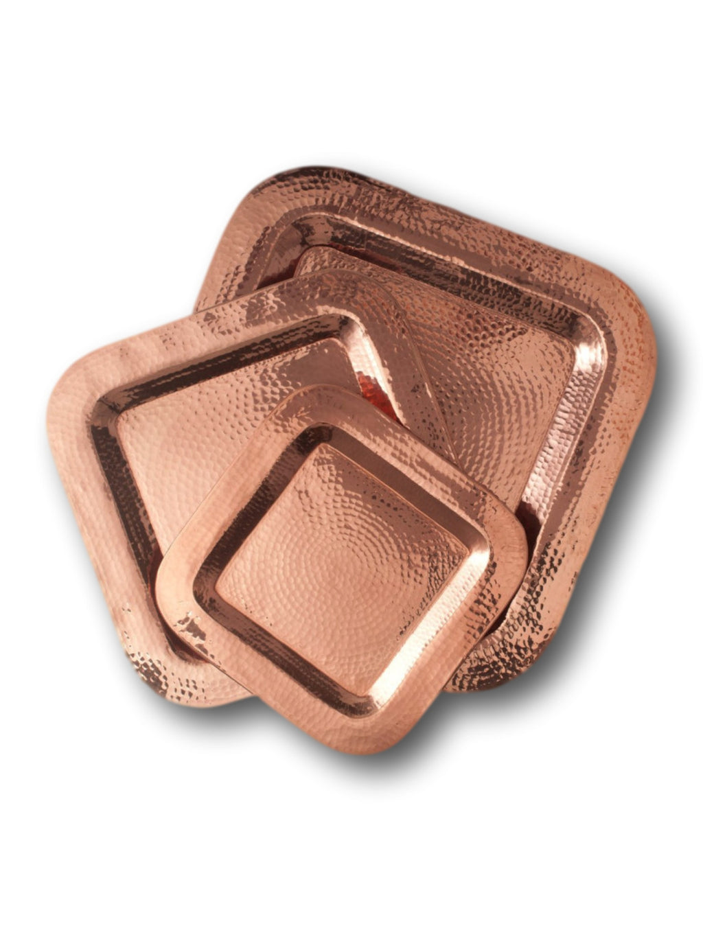 Copper Thessaly Square Platter--SPECIAL ORDER