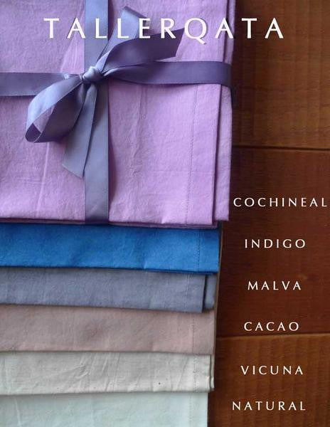 Set of 4 Organic Cotton Napkins