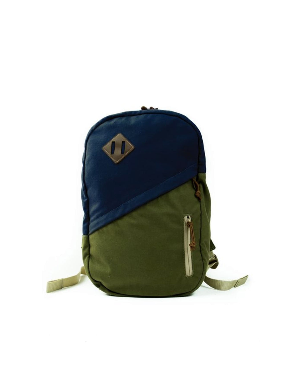Blue/Green Canvas Field Pack