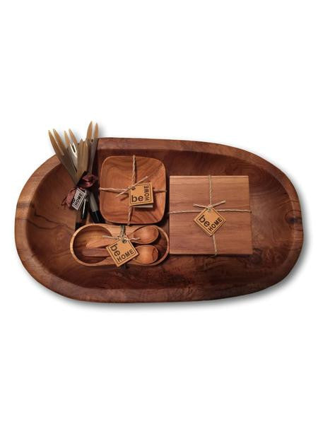 Teak Kitchenware Gift Set