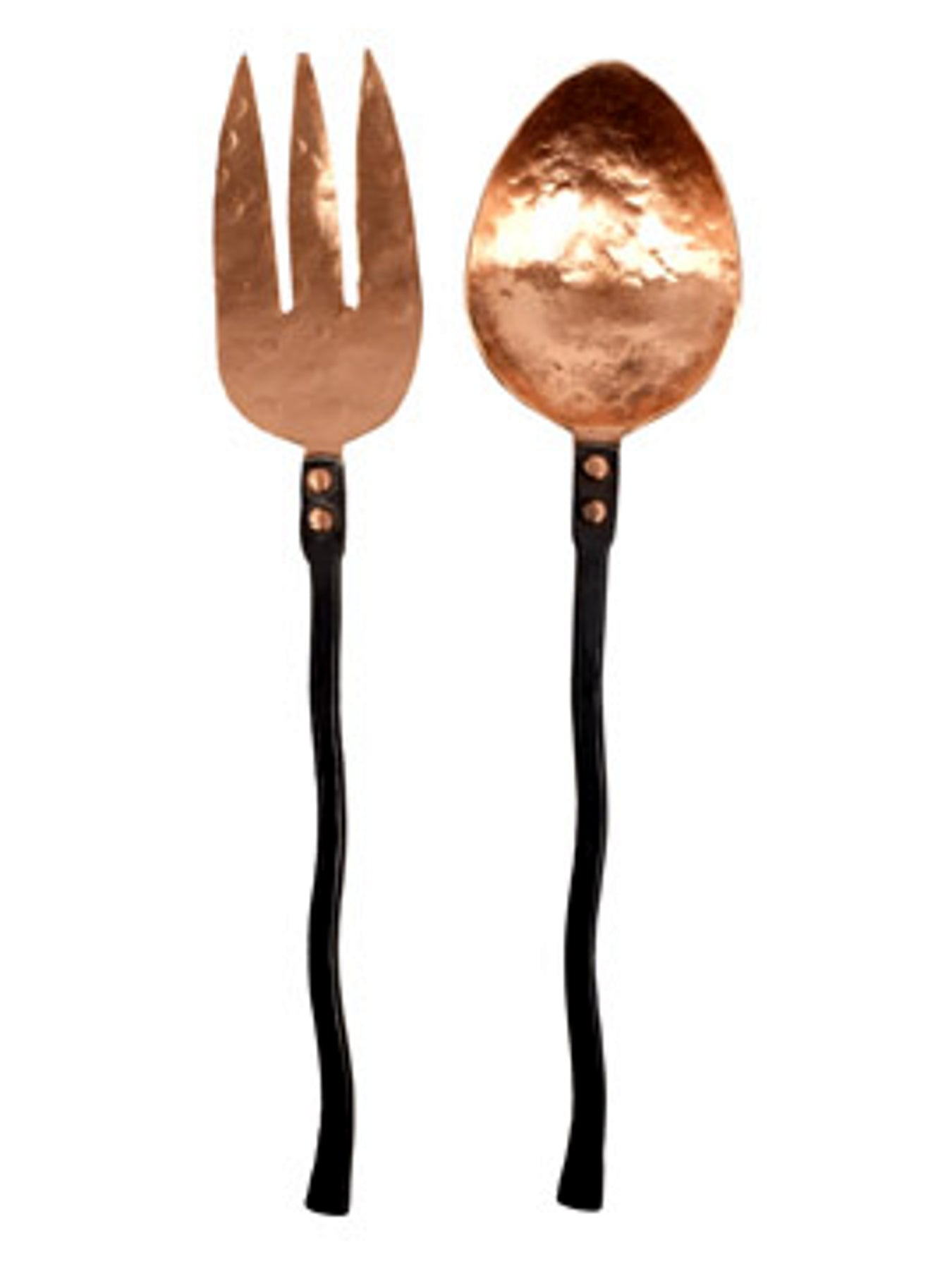 Handforged Copper Iron Serving Set