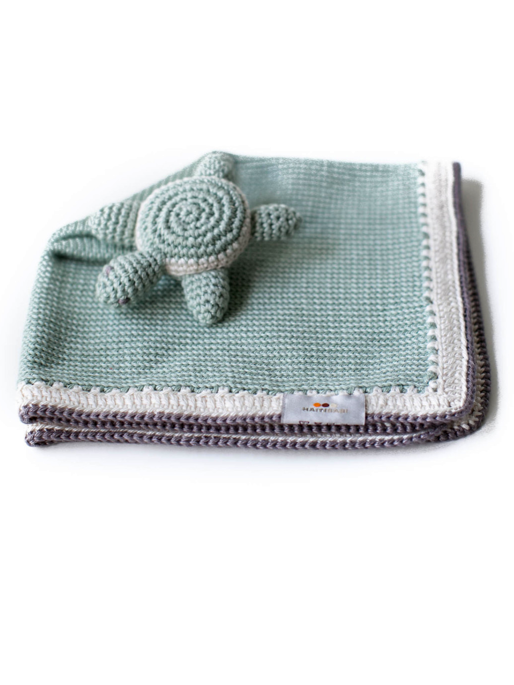 Turtle Baby Lovie Blanket