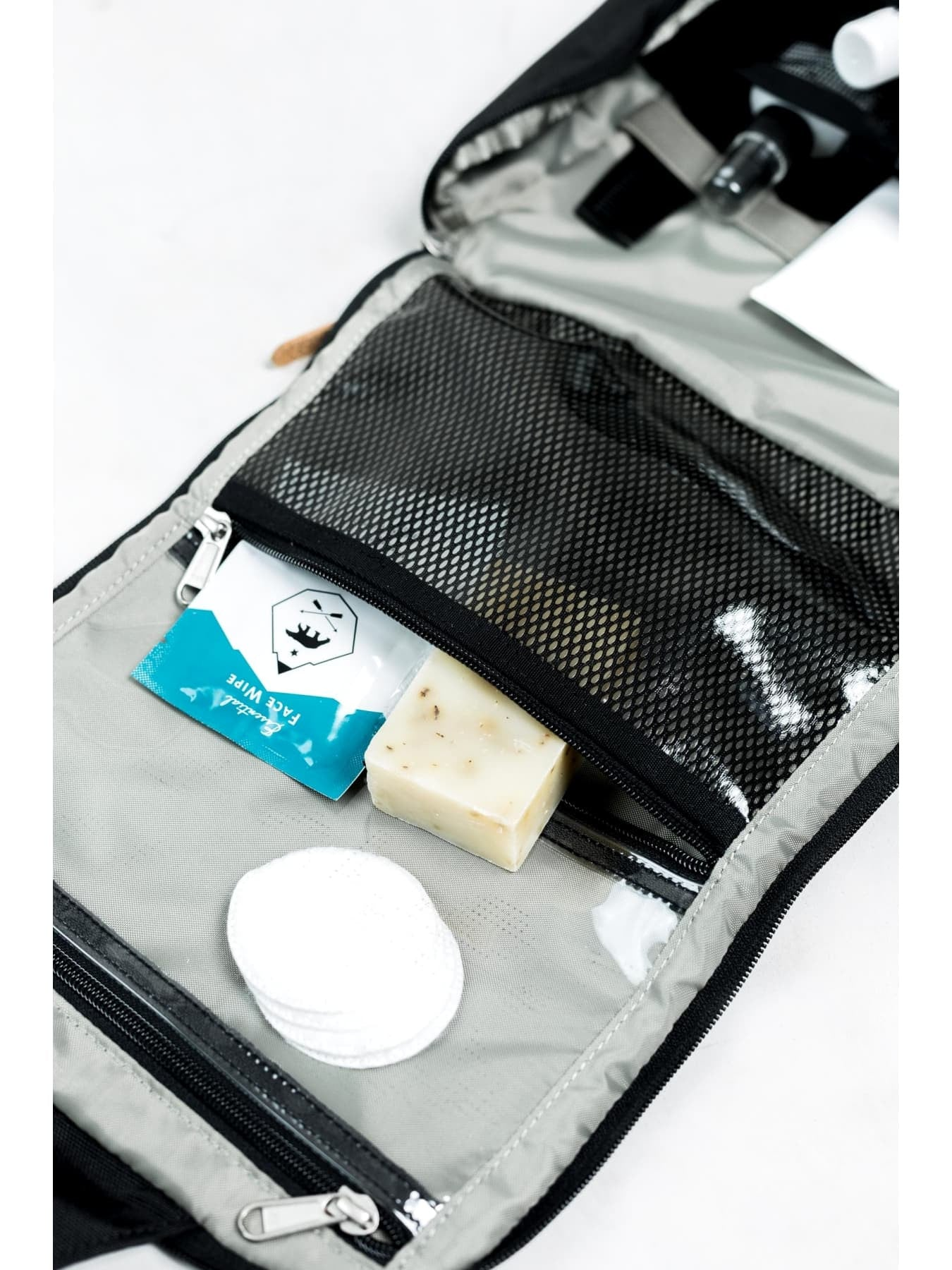 Water Repellent Pitch Toiletry Case