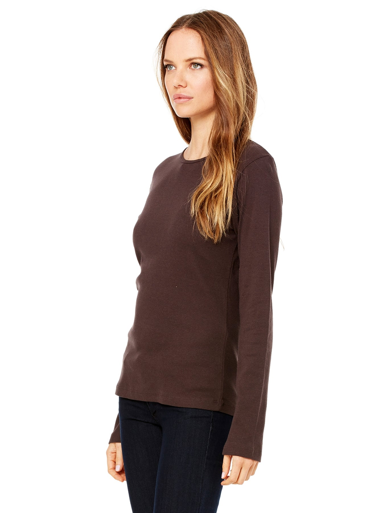 Women's Baby Rib Long Sleeve Tee