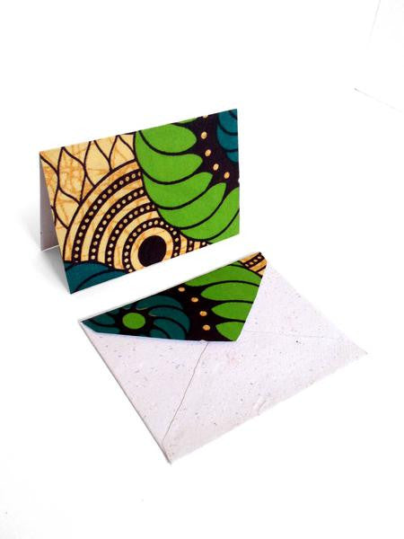 African Textile Cards