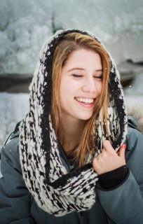 Alpaca Hand Knit Ring Neck Warmer