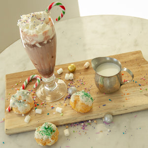 Millie Desserts. Hot Chocolate. Christmas Dessert. Chocolate. Toronto Desserts. Hot Chocolate Bombs.