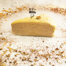 Load image into Gallery viewer, Hojicha (Roasted Green Tea) Crêpe Cake