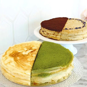 Mille Crepe Cake - 2 Flavours