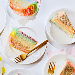 Crepe Cake - Rainbow - Whole