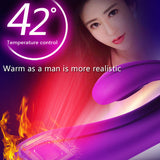 Waterproof G-Spot Dildo Vibrating Massager