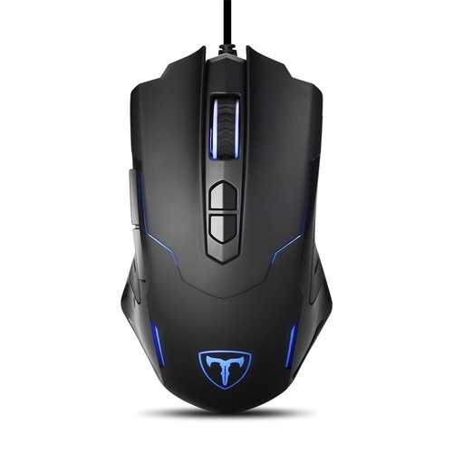 RGB Backlight Gaming Mouse 2400DPI Adjustable 7 Buttons USB Wired Mice Optical Mouse