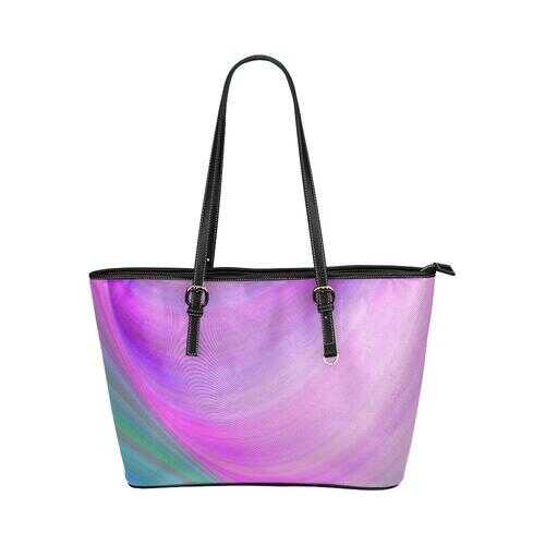 Gradient Style Pink Blue Tote Bag