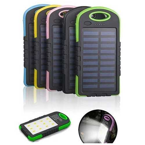 PowerGLO Eco Friendly Solar Charger With 12 Bright LED Lamps