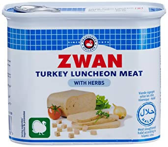 ZWAN TURKEY LUNCH MEAT 340GR