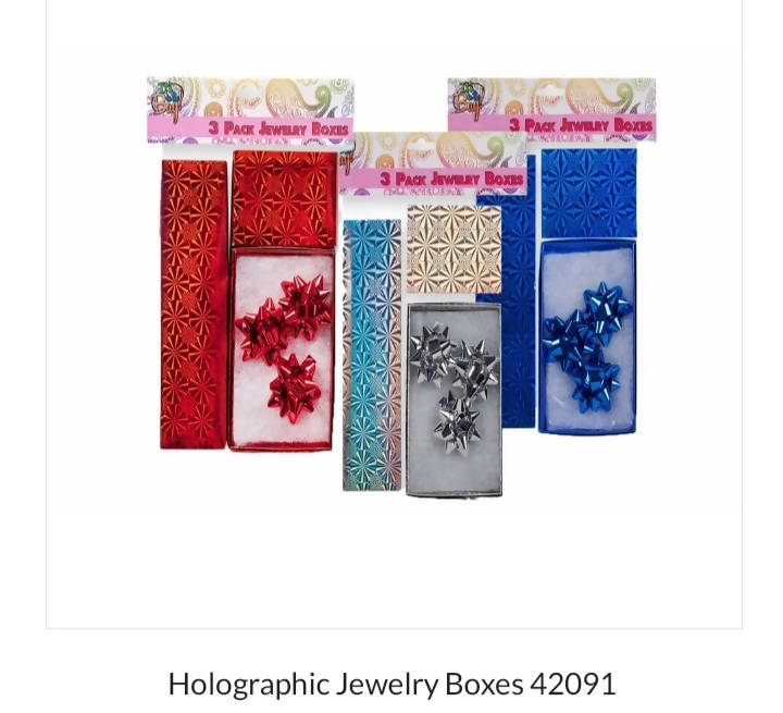 3 pack Jewelty Boxes