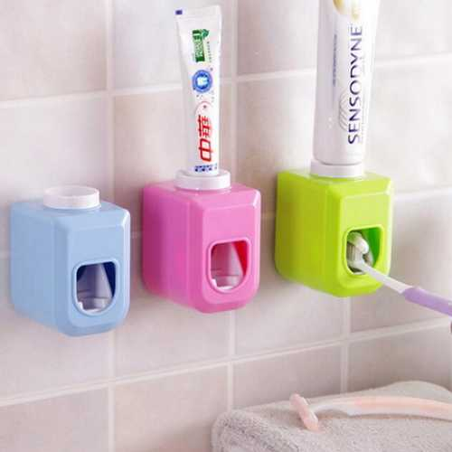 Toothpaste Dispenser Touch Automatic Auto Squeezer