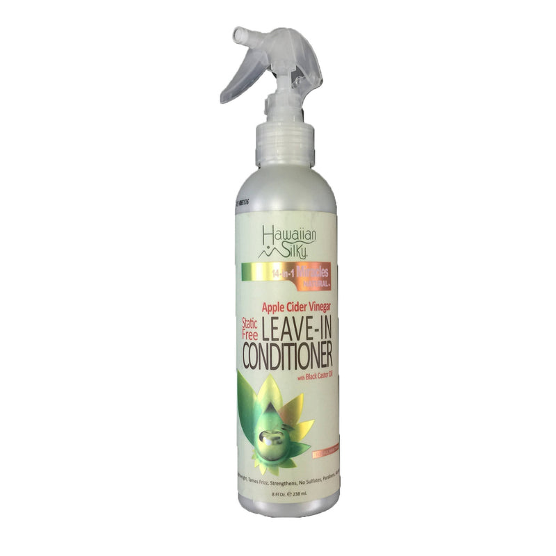 Hawaiian Silky Leave-In Conditioner with Black Caster Oil