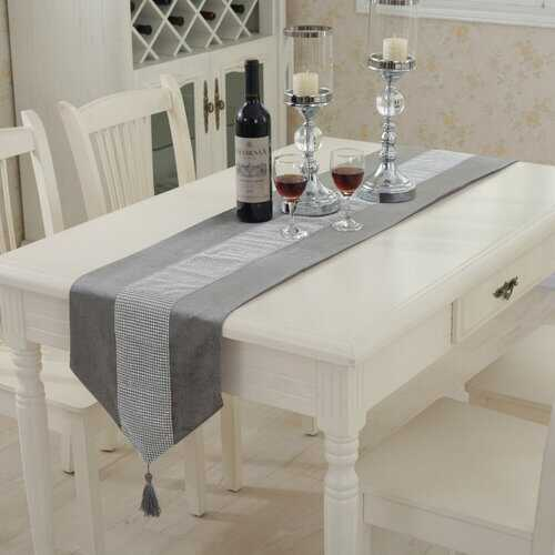 32x210cm Wedding Luxury Modern Diamond Table Runner Home Party Decoration
