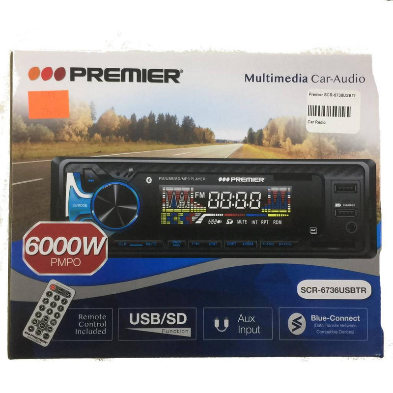 Premier Car Radio USB/Bluetooth/Aux/Radio