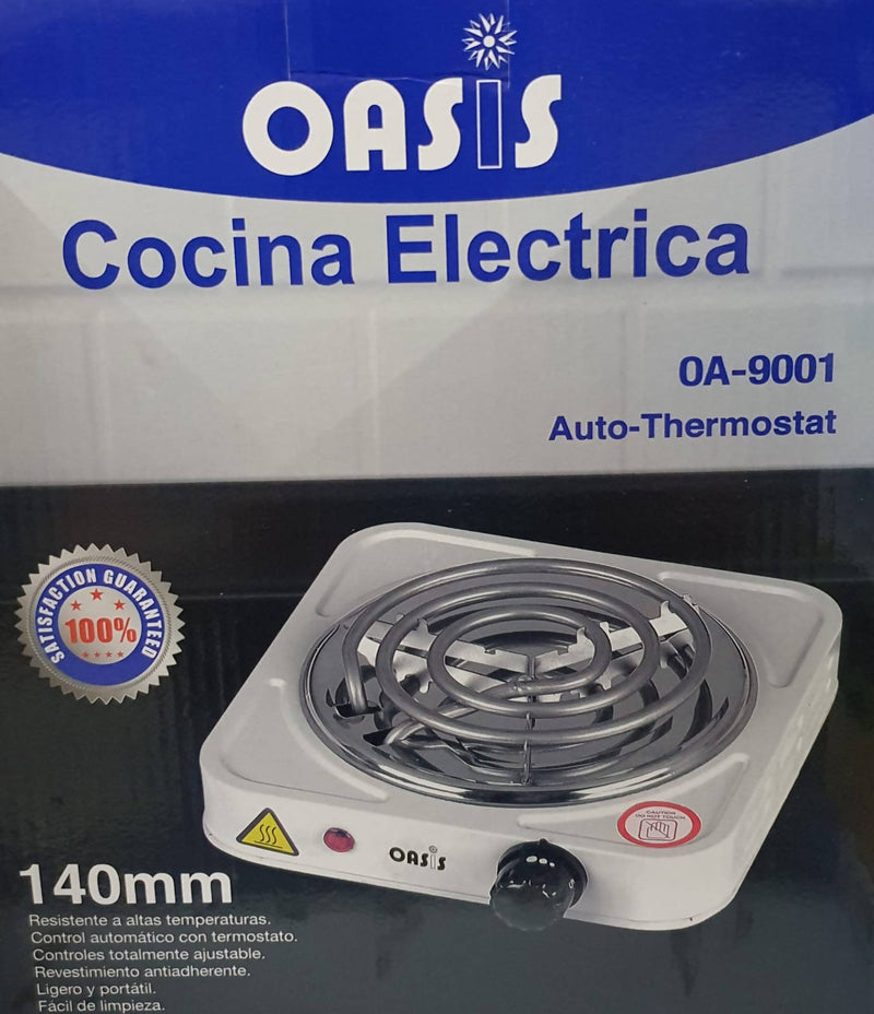 Oasis Electric Single Burner Stove
