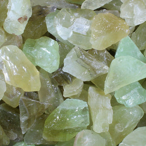 Raw Green Calcite