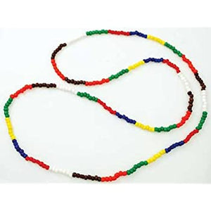7 African Orishas Necklace 15in