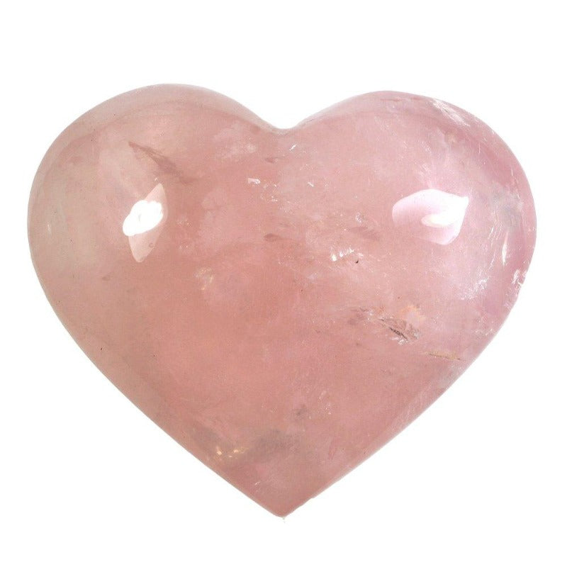 Rose Quartz Heart Gemstone