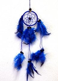 Blue Harmony Dream Catcher