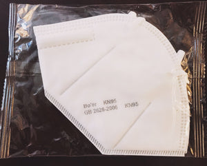 KN95 Face Mask w/ Ear Loops (10 per box)