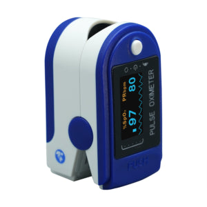 iHealth wired fingertip pulse oximeter side view