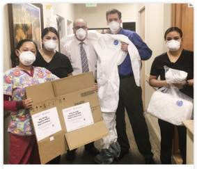 PPE Donation to Primary Care Clinics
