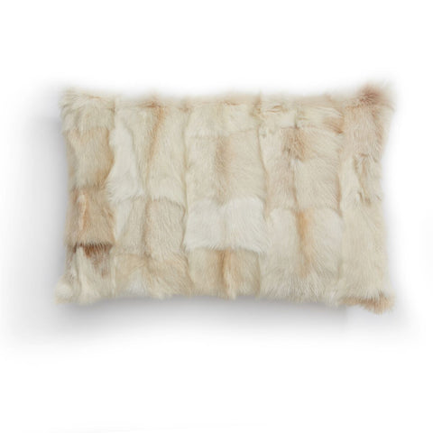 Genuine Goatskin Lumbar Cushion