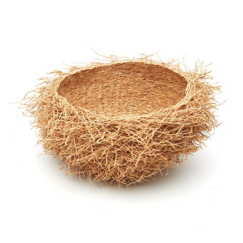 Vetiver Birds Nest Basket - Small