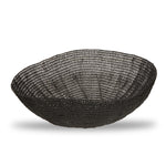 Black Resin Crochet Bowl