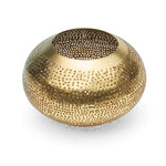 Set of 2 Brass Tea Light Holders