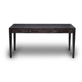 Ostrich Dark Tobacco Tapered Leg Desk