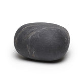 Dark Grey Felted Wool Rock Pillows