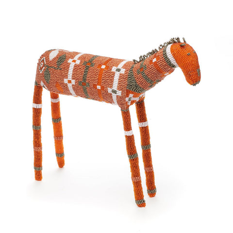 MonkeyBiz Orange  White and Silver Zebra
