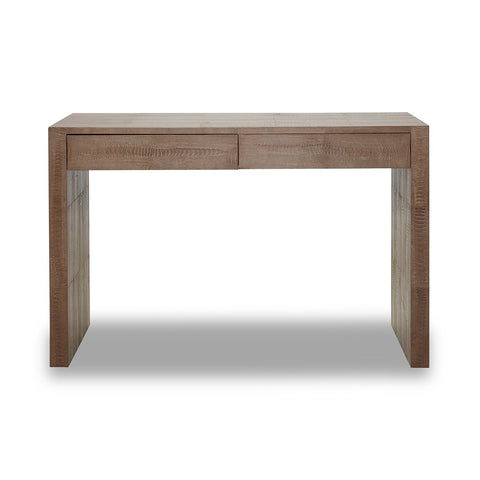 Ostrich Noisette Waterfall Console with Drawers