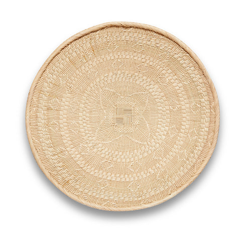 Blonde Binga/Tonga Basket Large