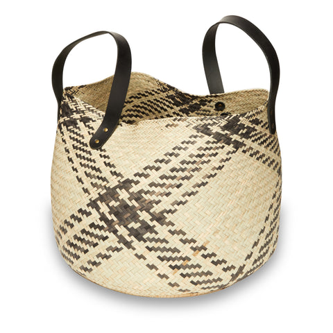 Checkered Shopper or Throw All Basket