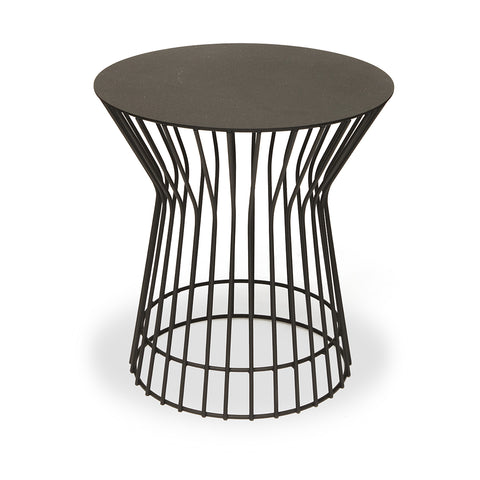 Black Wire Side Table - Short